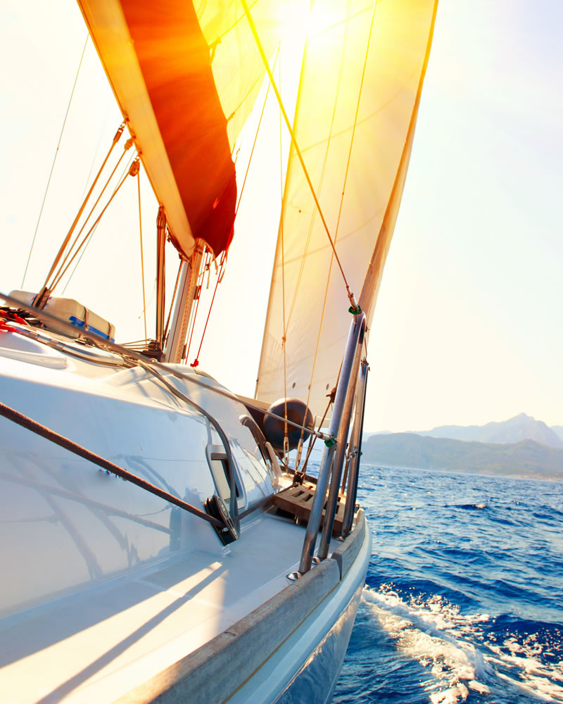 Escursioni in barca a vela Hotel Mare Pineta