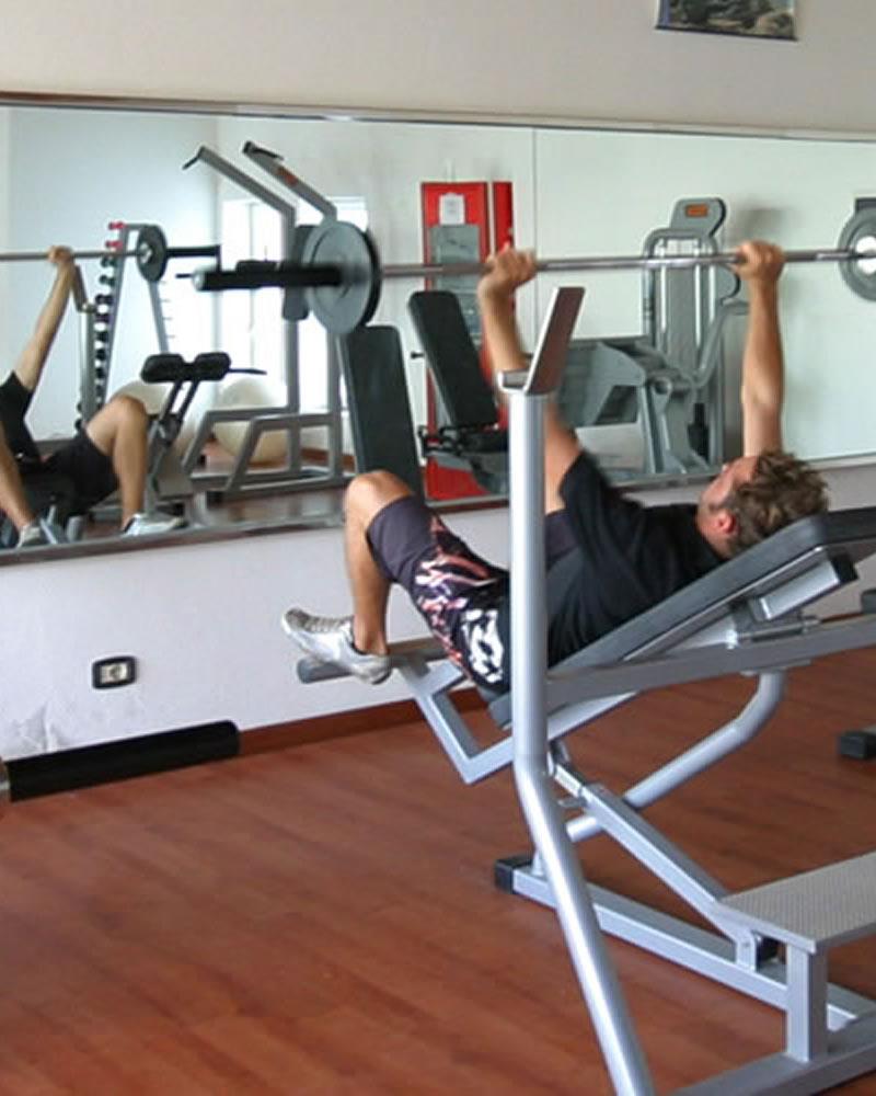 Palestra Fitness Hotel Mare Pineta