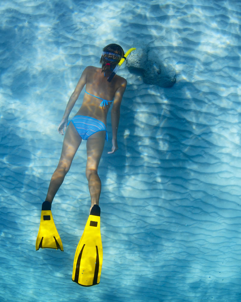 Snorkeling in Sardegna Hotel Mare Pineta